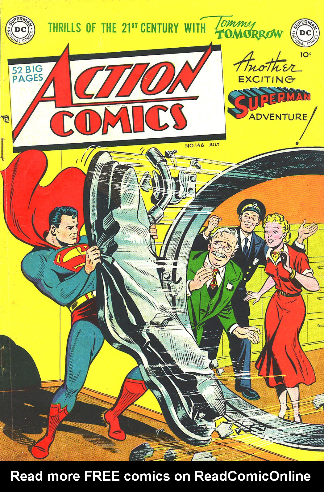Read online Action Comics (1938) comic -  Issue #146 - 1