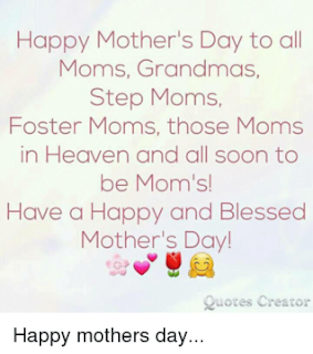 mother's day in heaven quotes images