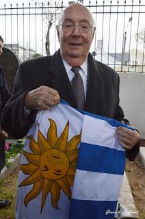 Enrique Lichtenberger Cementerio Británico Uruguay Fútbol Albion  visitas guiadas Enrique Falco