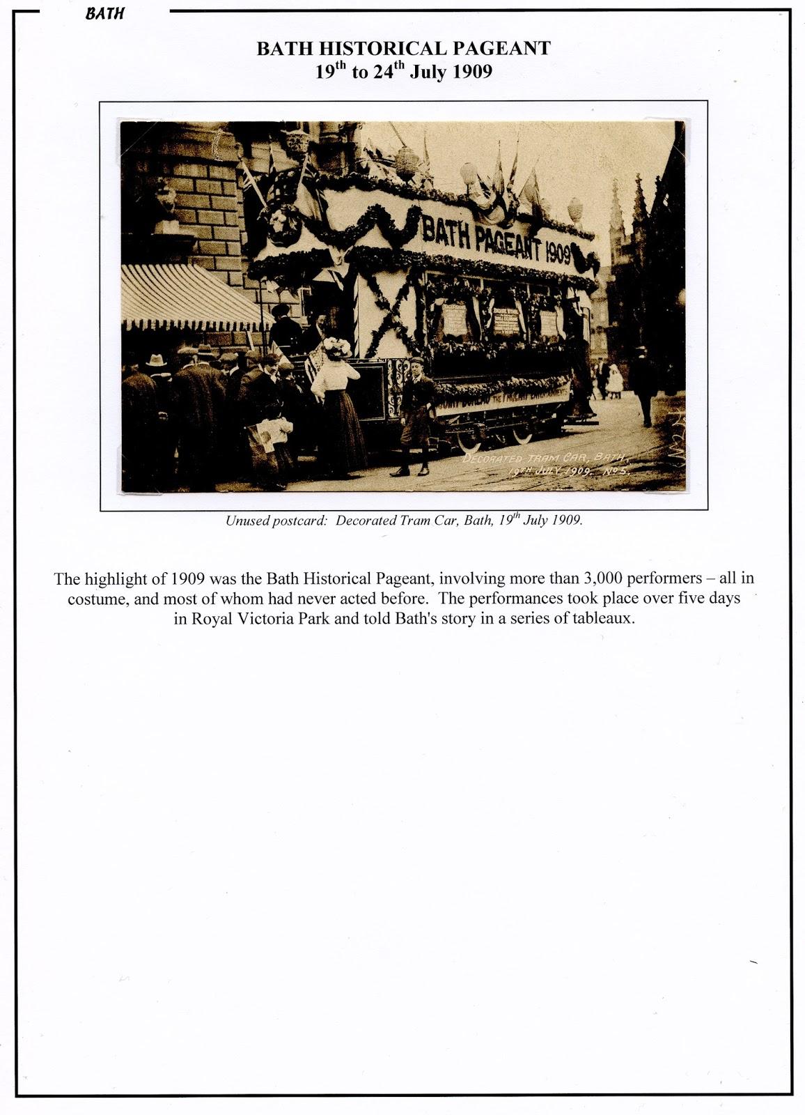Somerset Postal History: A few Bath 20th century items