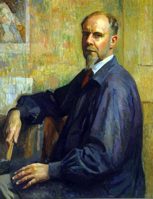 Douglas Dundas, Self Portrait, Portraits of Painters, Fine arts, Portraits of painters blog, Paintings of Douglas Dundas, Painter Douglas Dundas