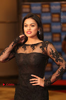 Actress Soniya Stills in Beautiful Black Long Dress at SIIMA Short Film Awards 2017 .COM 0010.JPG