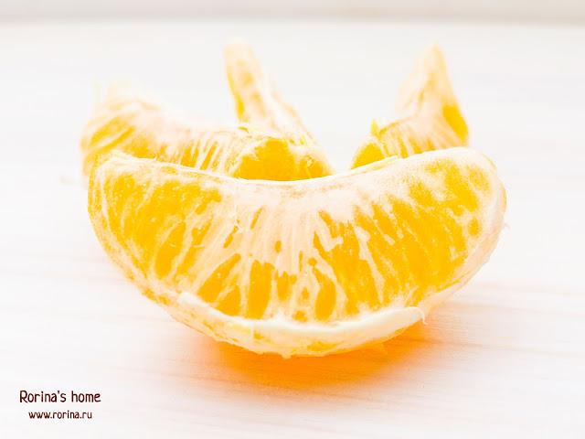 Долька мандарина