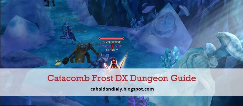 [Guide] CABAL – DX Dungeon Catacomb Frost | Solo Multiplayer