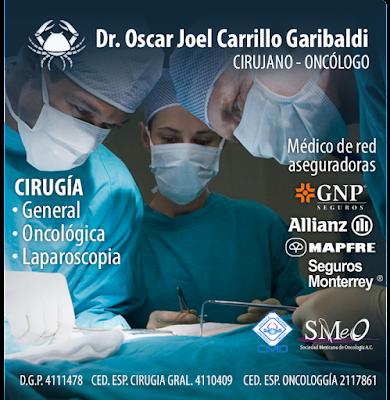 Dr. Oscar Joel Carrillo Garibaldi ONCÓLOGO GUADALAJARA