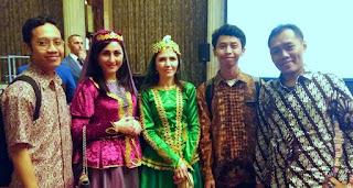 Suasana ulang tahun Azerbaijan di Indonesia