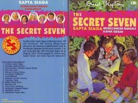 Download eBook Sapta Siaga - Memecahkan Rahasia Kapak Merah - Enid Blyton