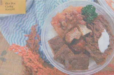 Rice Box Gudeg Komplit