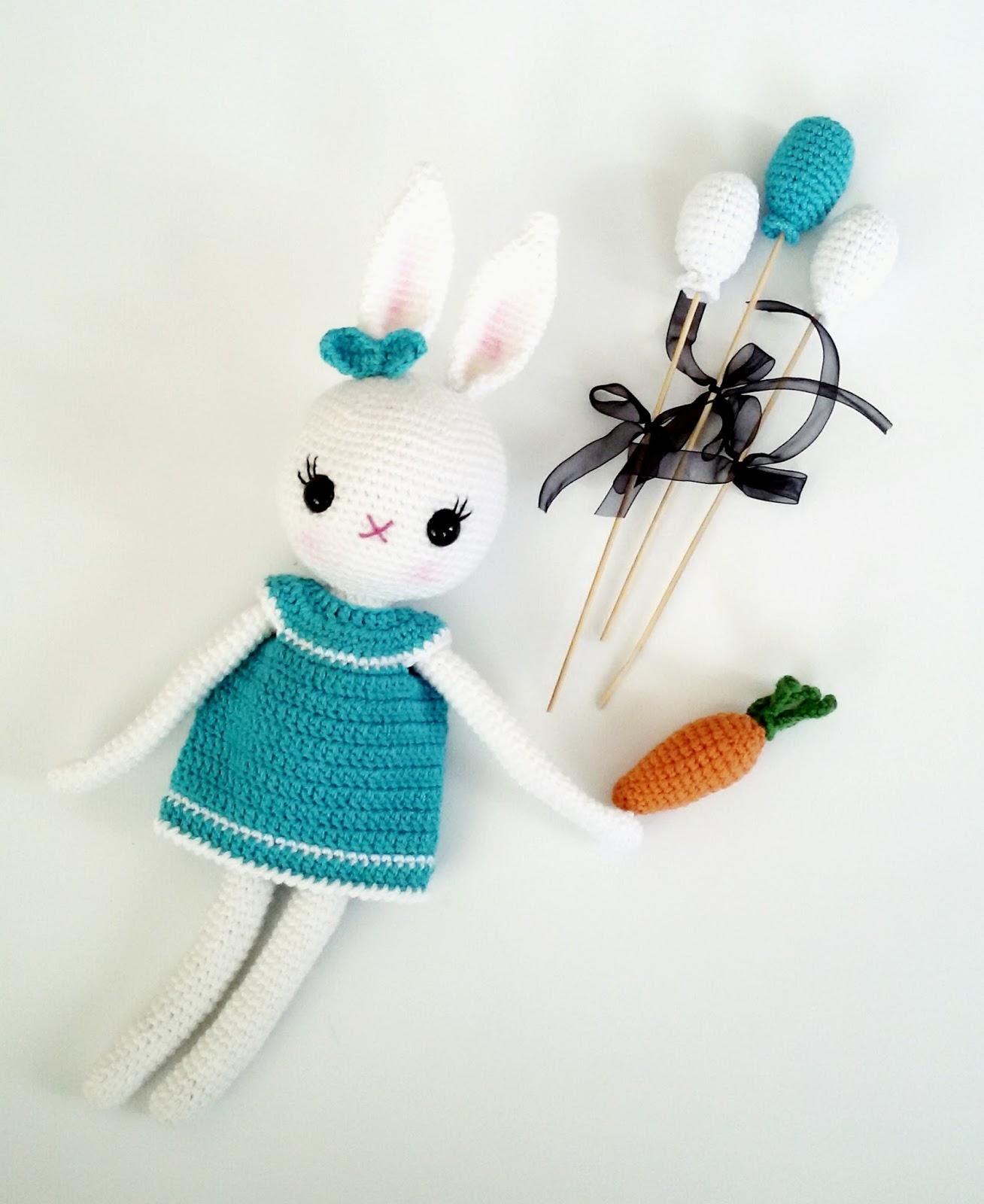 Yaseminkale: amigurumi bunny, ?rg? oyuncak tav?anlar, ?rg? ...