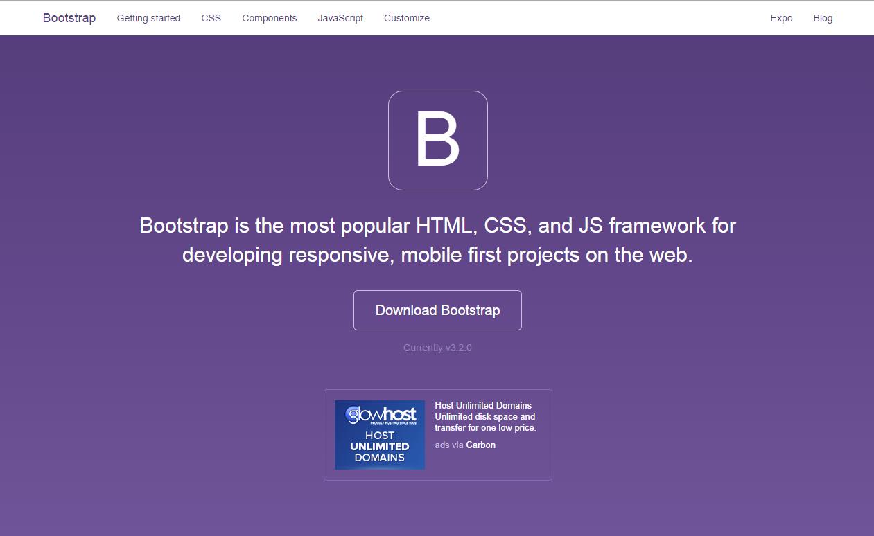 Сайт Bootstrap