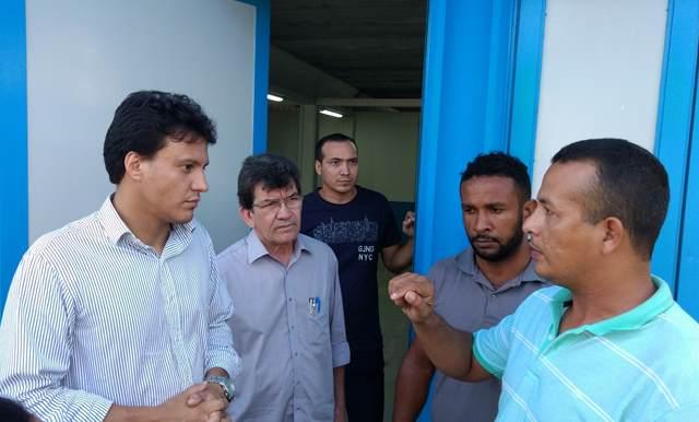 Vistorias nas escolas de São José de Ribamar