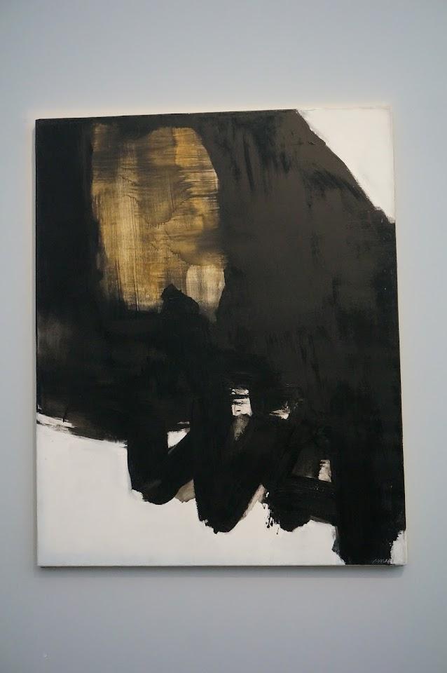 peinture Pierre Soulages 1964