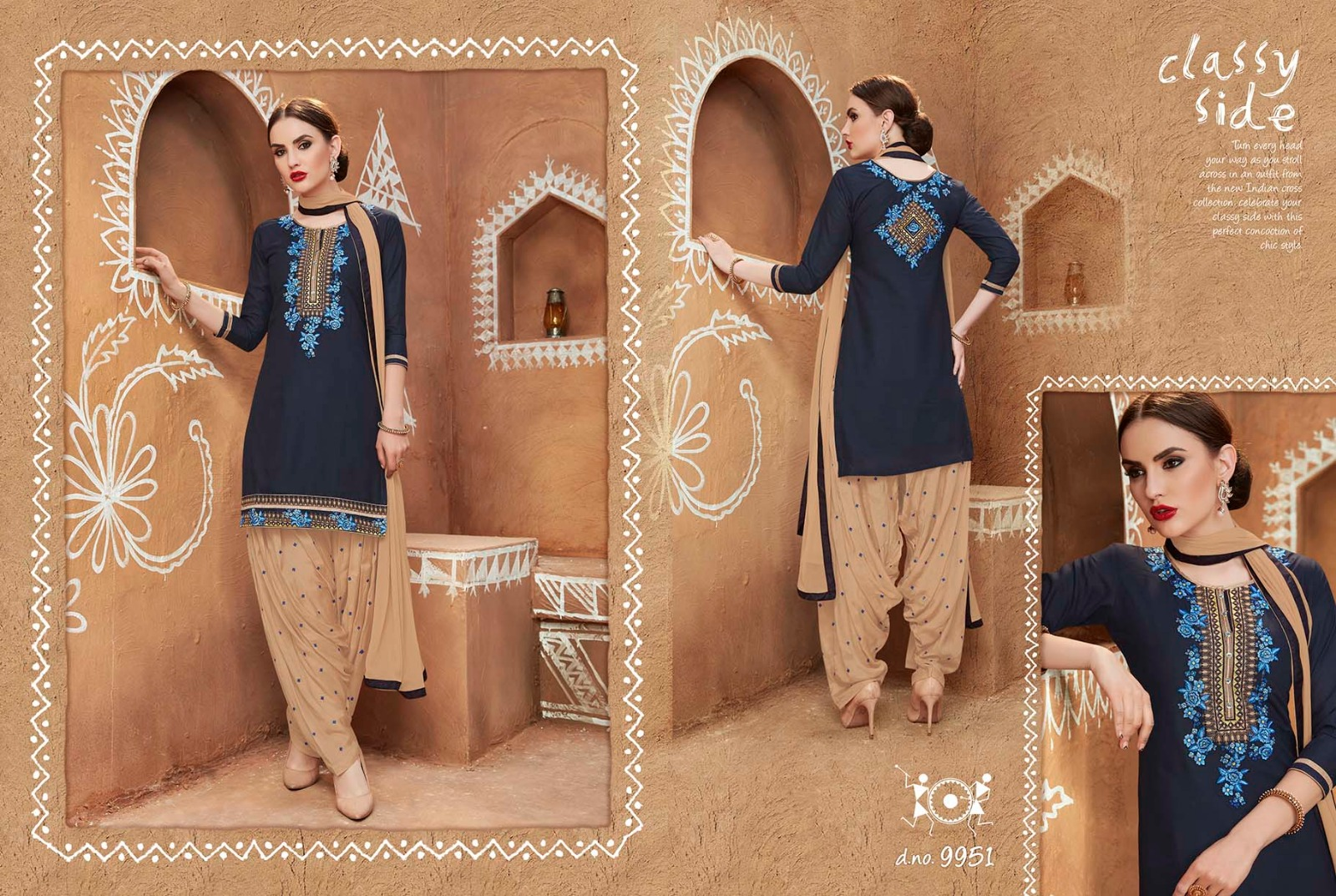 Patiala House Vol 53 – Latest New Patiala Embroidery Dress Material