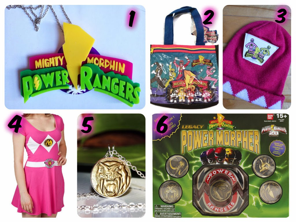 dcd762b9f5b Nerd Burger  Mighty Morphin Power Rangers Shopping List