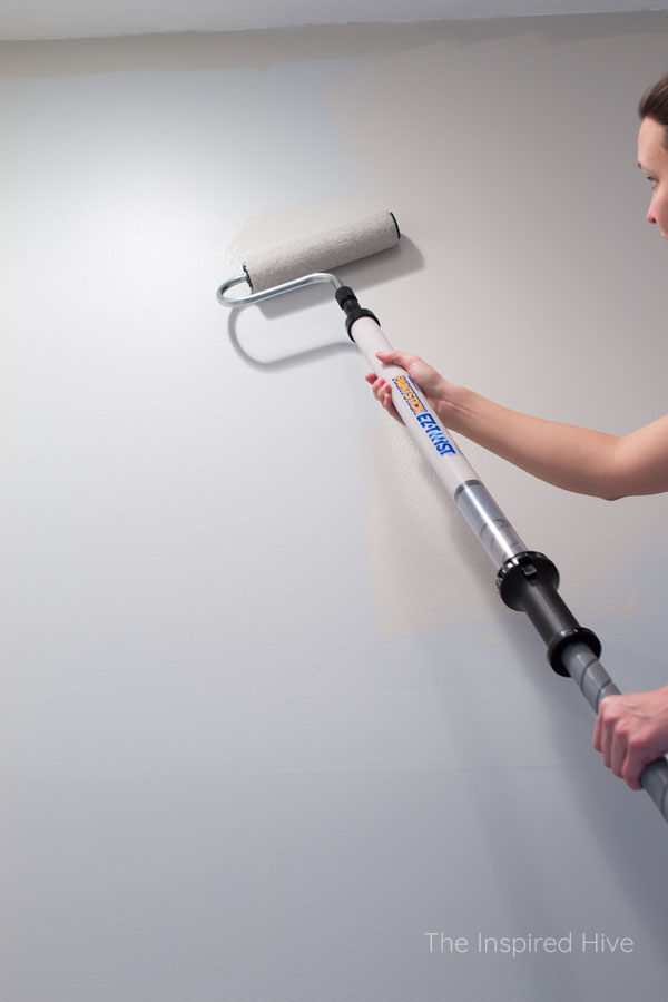 How to paint tall walls with the PaintStick EZ-Twist