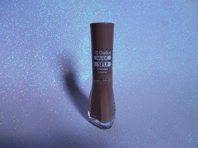 Swatche: Crema - Coleção: Nude Cada Um Tem O Seu da Dailus
