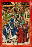 Aufziehen_im_Wasserturm_ Aus_Luzerner_ Schilling_Folio_129v_ Amstaldenhandel