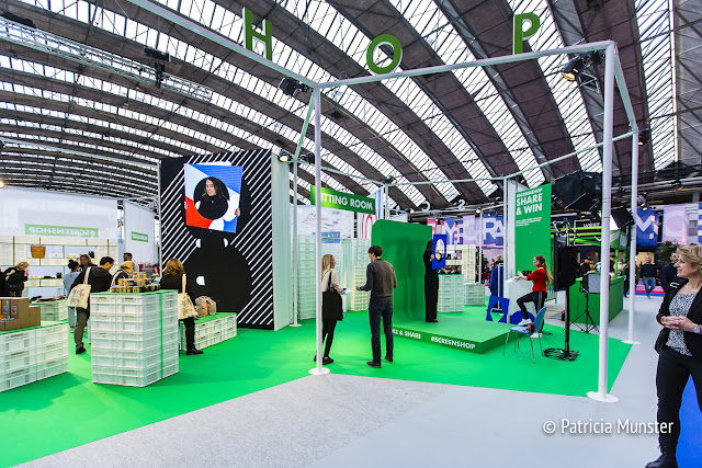 Green screen shop at Modefabriek