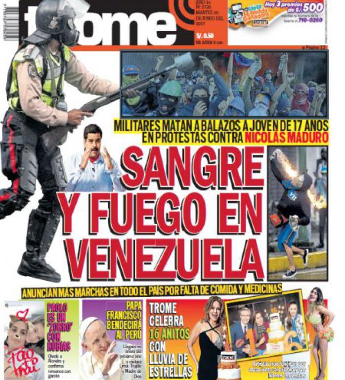 Análisis De Medios Trome Cumplió 16 Años En El Mercado Periodístico