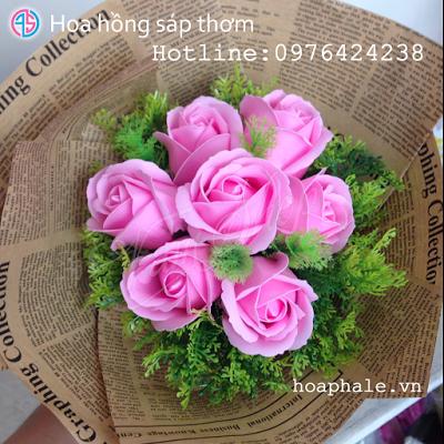 Hoa hong sap thom vinh cuu tai Vinh Phuc