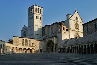 The Basilica of St Francis of Assisi, where Princess Giovanna and King Boris III were married in 1930