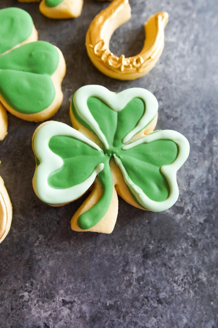St. Patrick's Day Shamrocks and Horseshoes