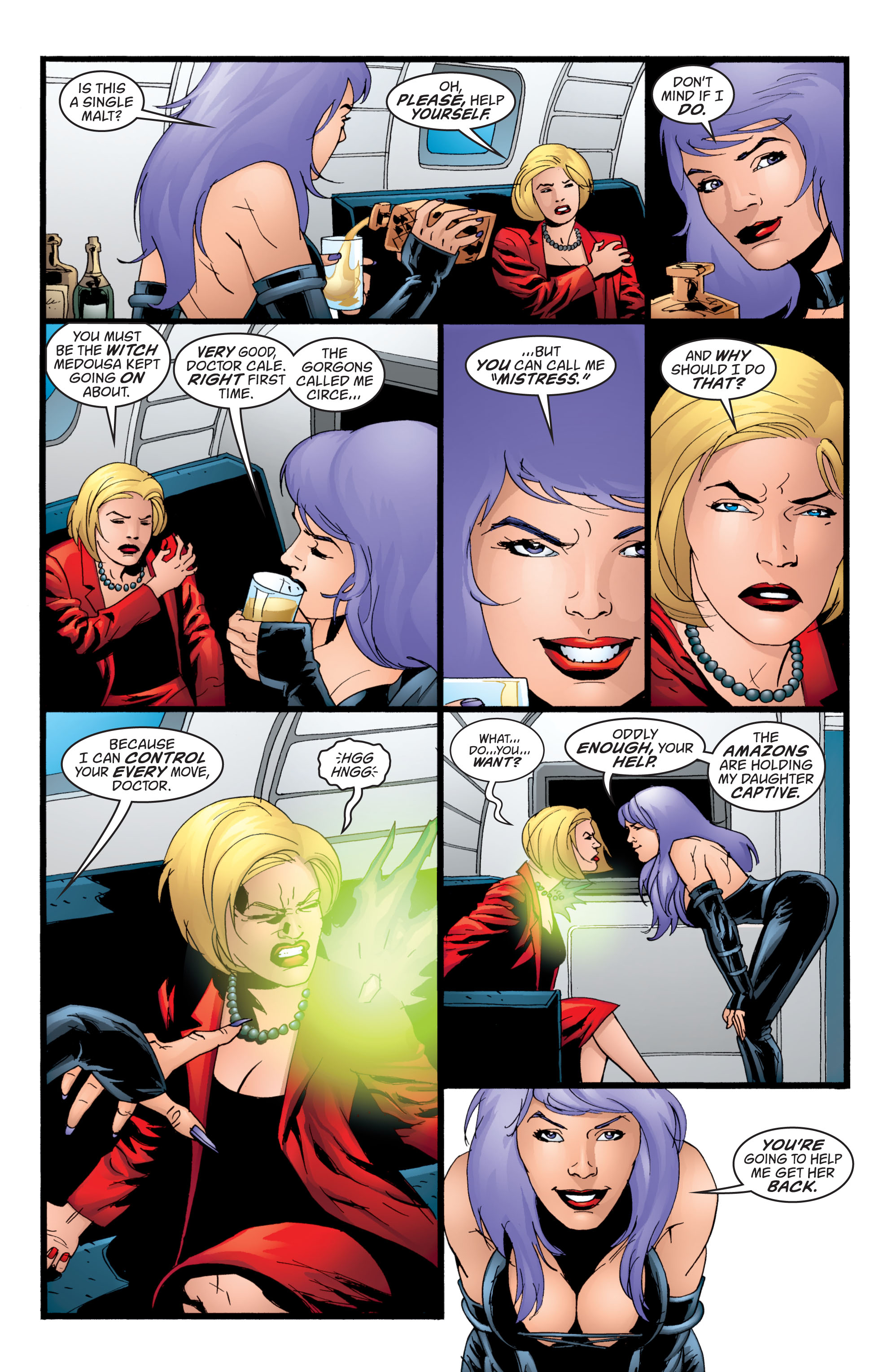 Read online Wonder Woman (1987) comic -  Issue #211 - 10