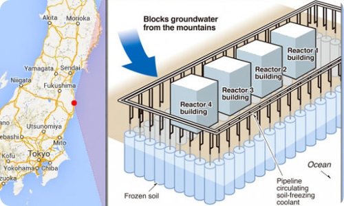 Japan could build a giant wall of ice around the Fukushima plant