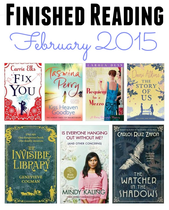 A picture of the best books of February 2015