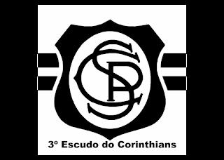 3º Escudo do Corinthians Logo Vector