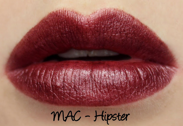 MAC MONDAY | Trend F/W '09 Lipsticks - Hipster Swatches & Review