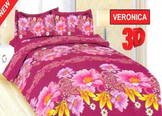 Harga Sprei Dan Bed Cover Bonita Terbaru 2017