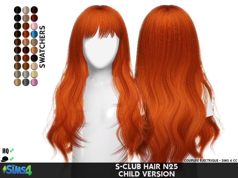 Club Hair Version Redheadsims