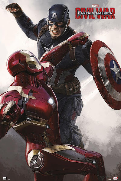 Poster of Captain America: Civil War (2016) Dual Audio [Hindi-DD5.1] 720p BluRay ESubs Download