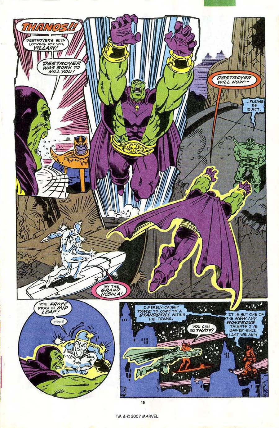 Read online Silver Surfer (1987) comic -  Issue #44 - 17