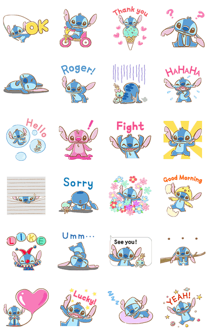 Stitch Pop-Up Cuteness
