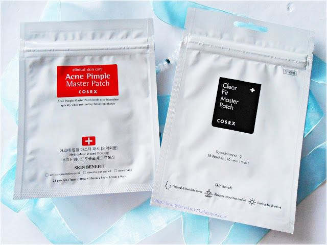 Cosrx clear fit master patch and Cosrx acne pimple master patch
