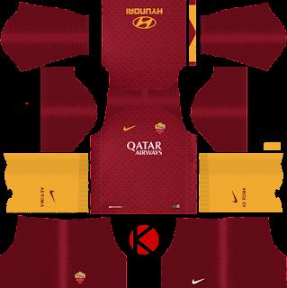 as-roma-nike-kits-2018-19-dream-league-soccer-%2528home%2529