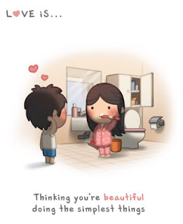 love is thinking you are beautiful doing the simplest things