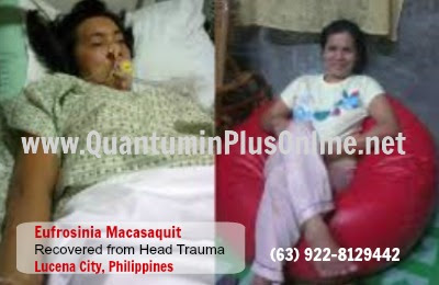 Head Trauma Quantumin Plus/ Miramin-Q Testimonial - Eufrosinia Macasaquit