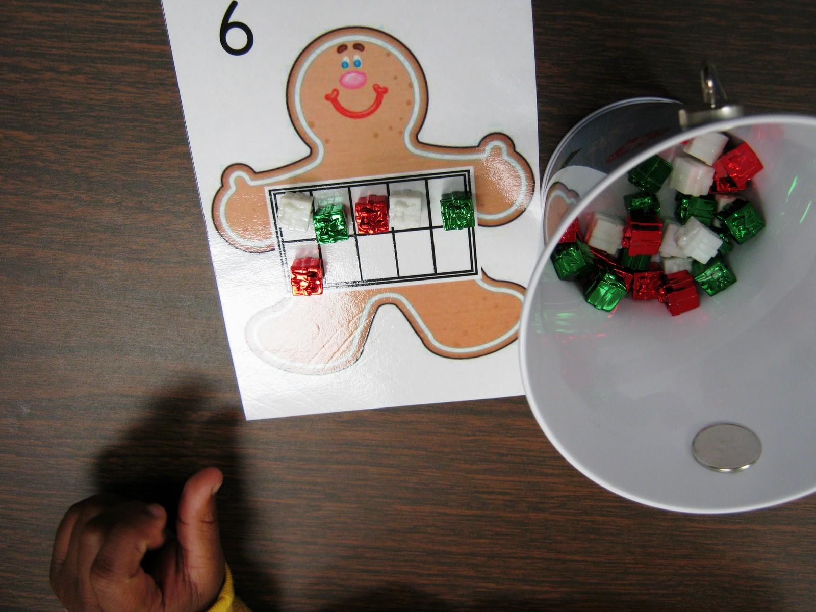 Kinderkids Fun Update On Gingerbread Man Tens Frames