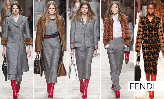 moda kolekcja fendi 2017 jesien