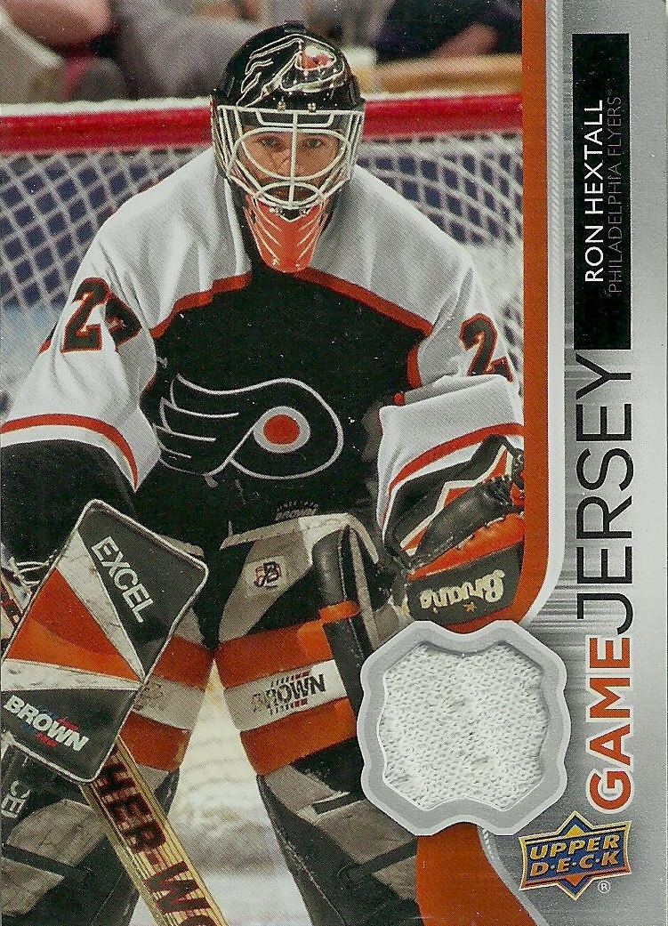 It s card  GJ-RH from Upper Deck s 2014-15 Series 1 collection and Upper  Deck Game Jersey sub-set f03b3eff066