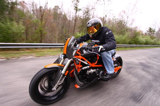 Queen's Custom Cycles - Buell Sidecar
