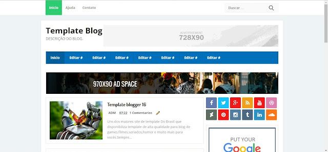 Template Para Blogger modernos facil de editar