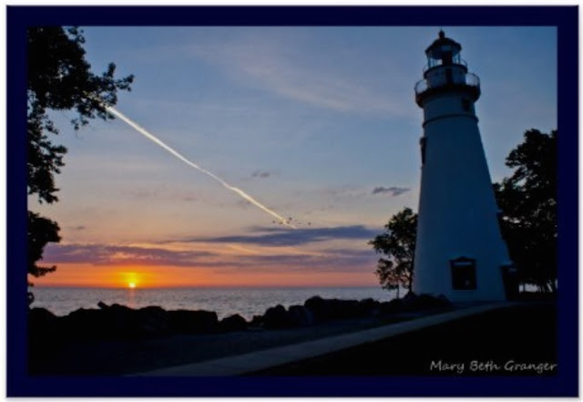 Sunrise at Marblehead Lighthouse Poster by mbgphoto on Zazzle
