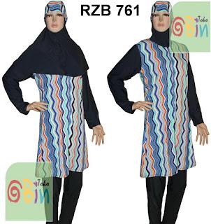baju renang syari RZB 761