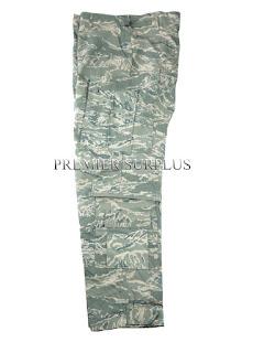 Genuine US Airforce Tigerstripe ABU Fire Retardent TFDU Nomex Trousers Pants NEW
