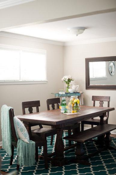 World Market Dining Room Wood Table