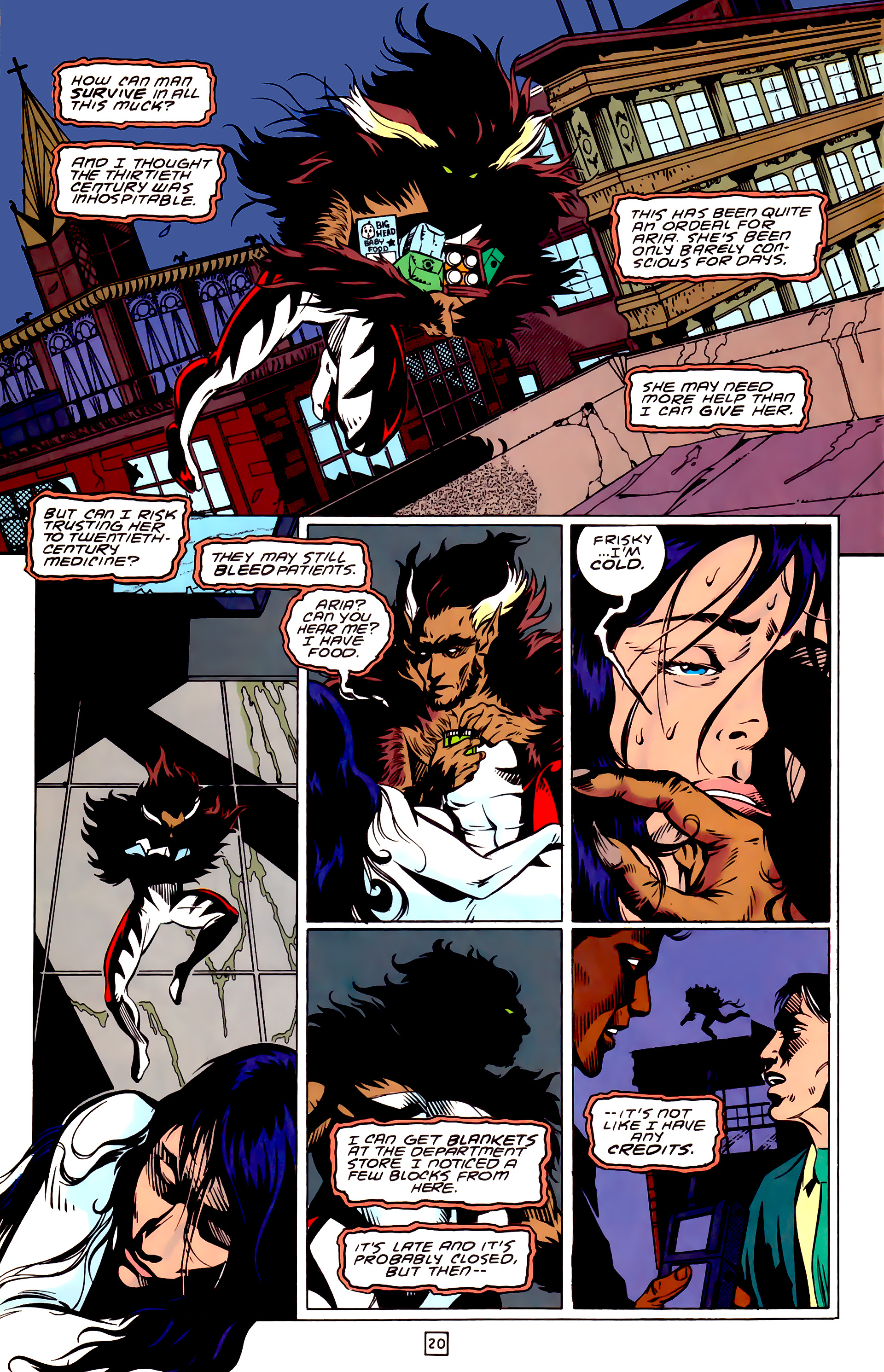 Legion of Super-Heroes (1989) _Annual_3 Page 20